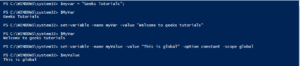 Print-PowerShell-variable-on-console