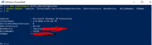 Powershell-newline-in-command