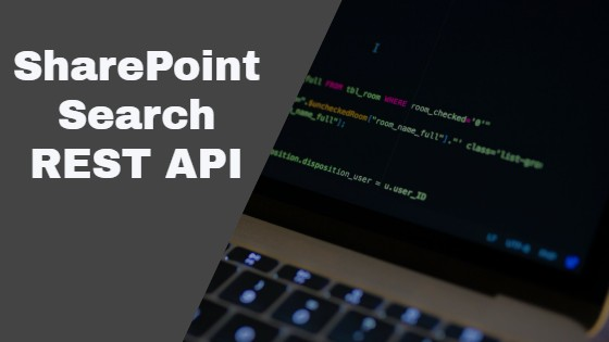 SharePoint Search Rest API with Example