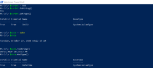 Convert object into string in PowerShell