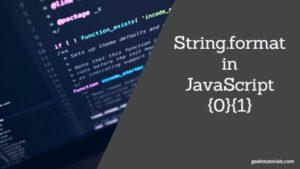 string.format in JavaScript