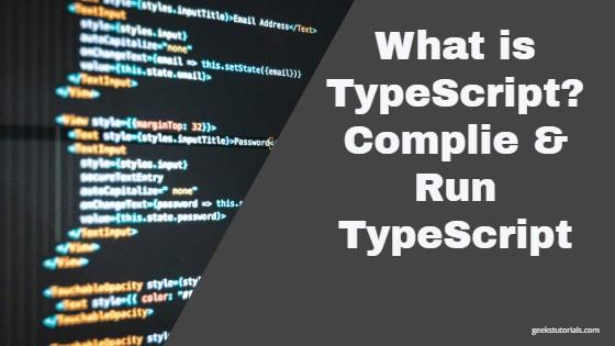 Compile Typescript